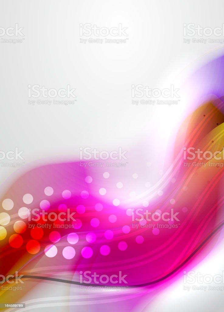 Bright vector background vector art illustration