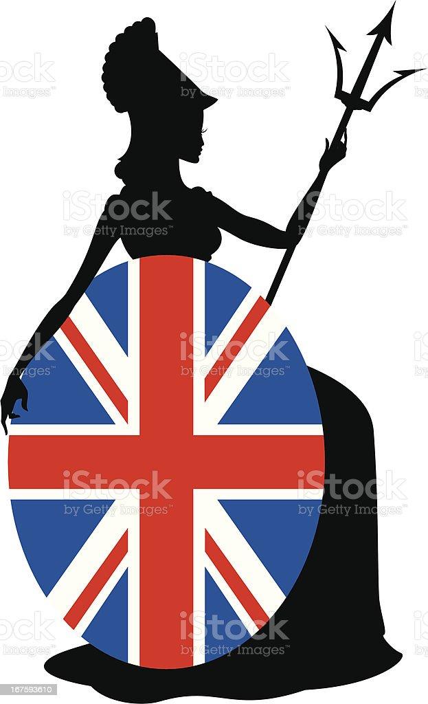 Britannia vector art illustration