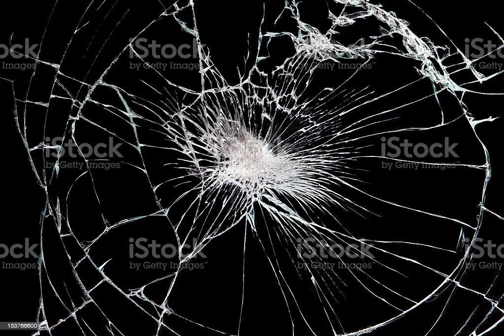 brokan black glass royalty-free stock vector art