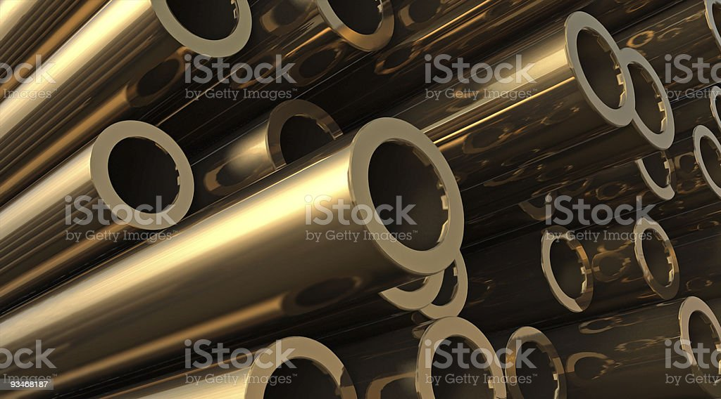 Bronze royalty-free stock vector art