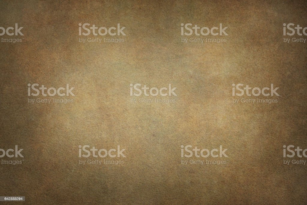 Brown canvas hand-painted backdrops stock photo