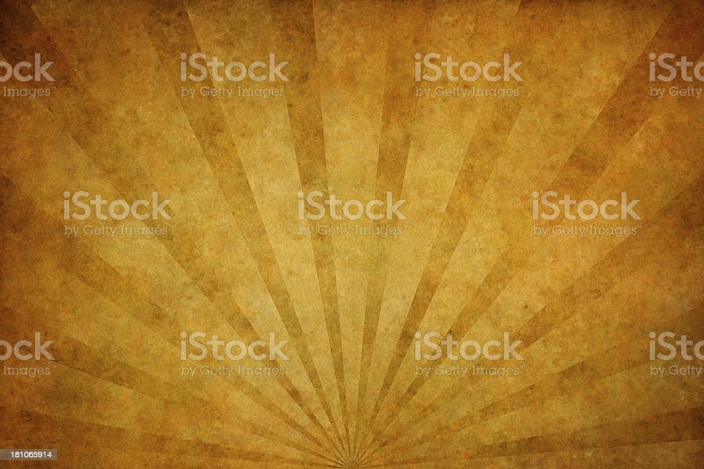 brown grunge texture with sunrays royalty-free stock vector art