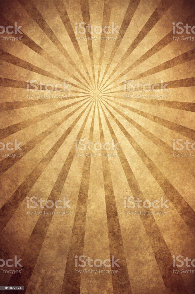 brown grunge texture with sunrays vector art illustration
