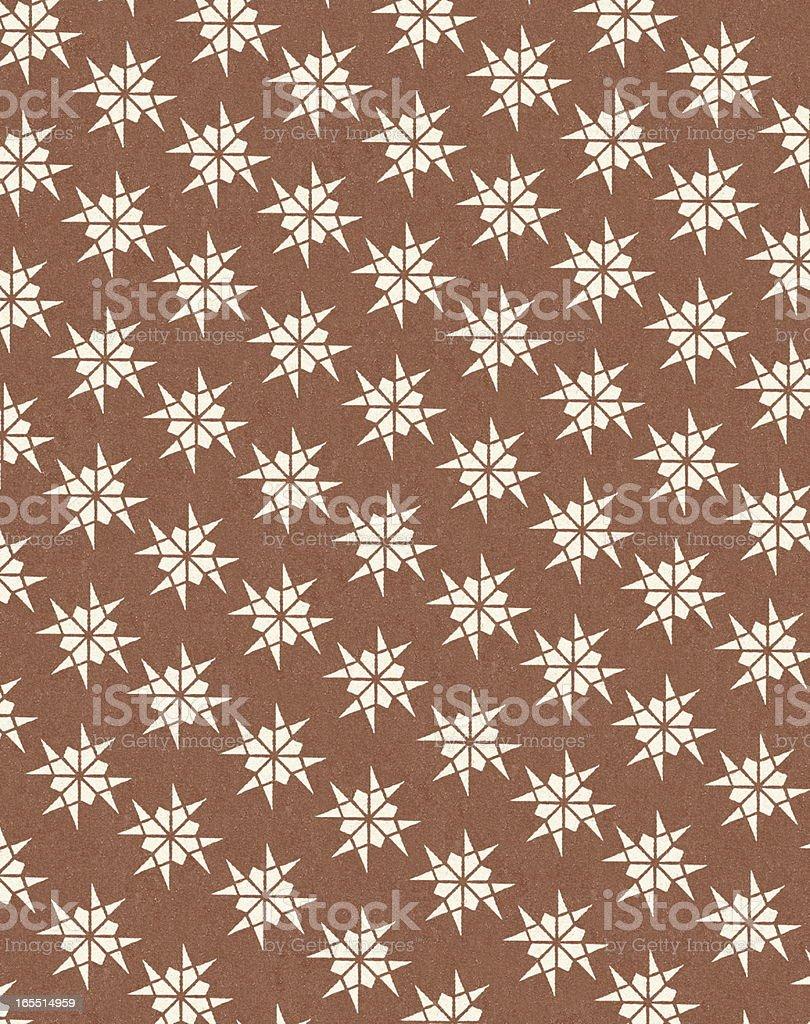 Brown Pattern royalty-free stock vector art