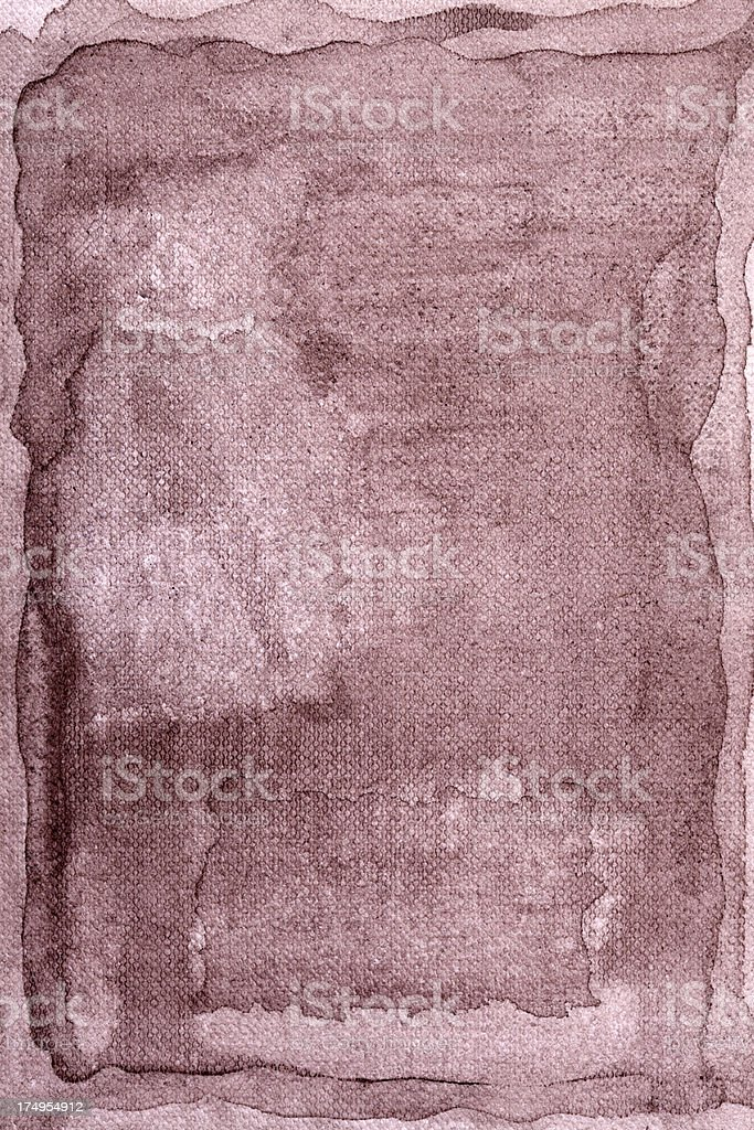 Brown watercolour background royalty-free stock vector art