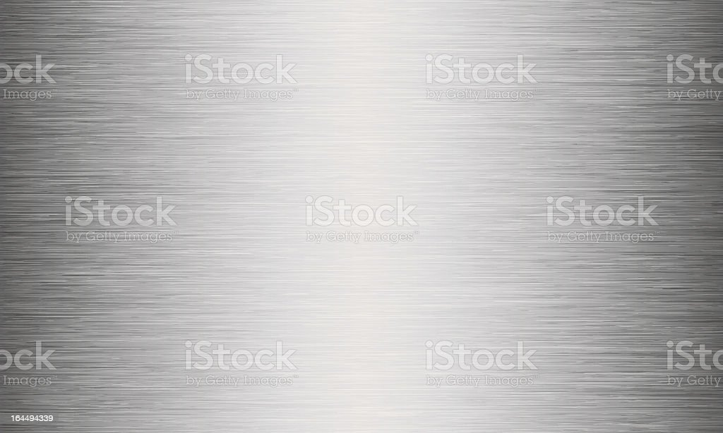 Brushed Metal Texture Abstract Background royalty-free stock vector art