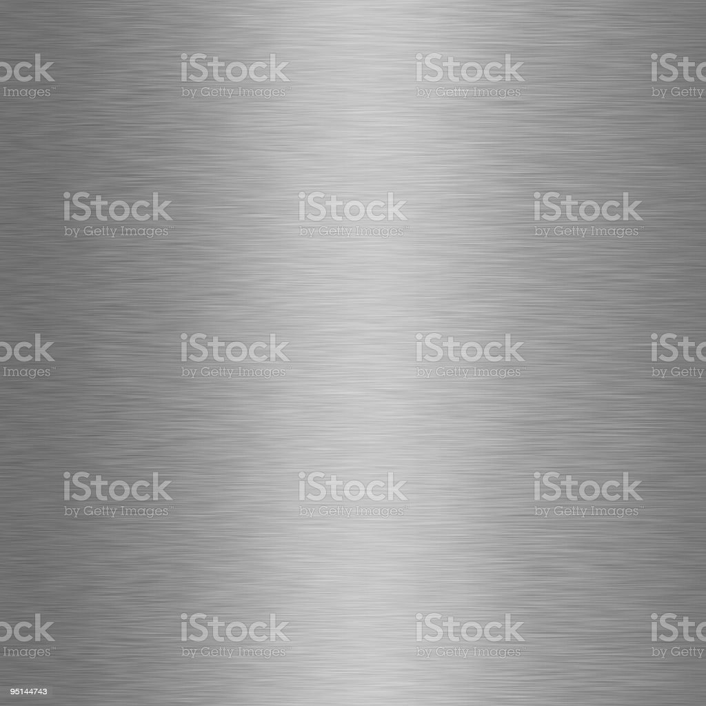 Brushed Metal Texture - XXXL royalty-free stock vector art