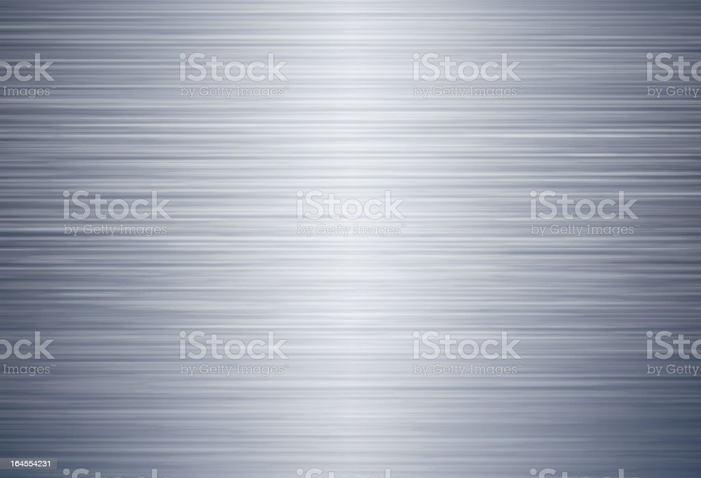 Brushed metal vector background vector art illustration