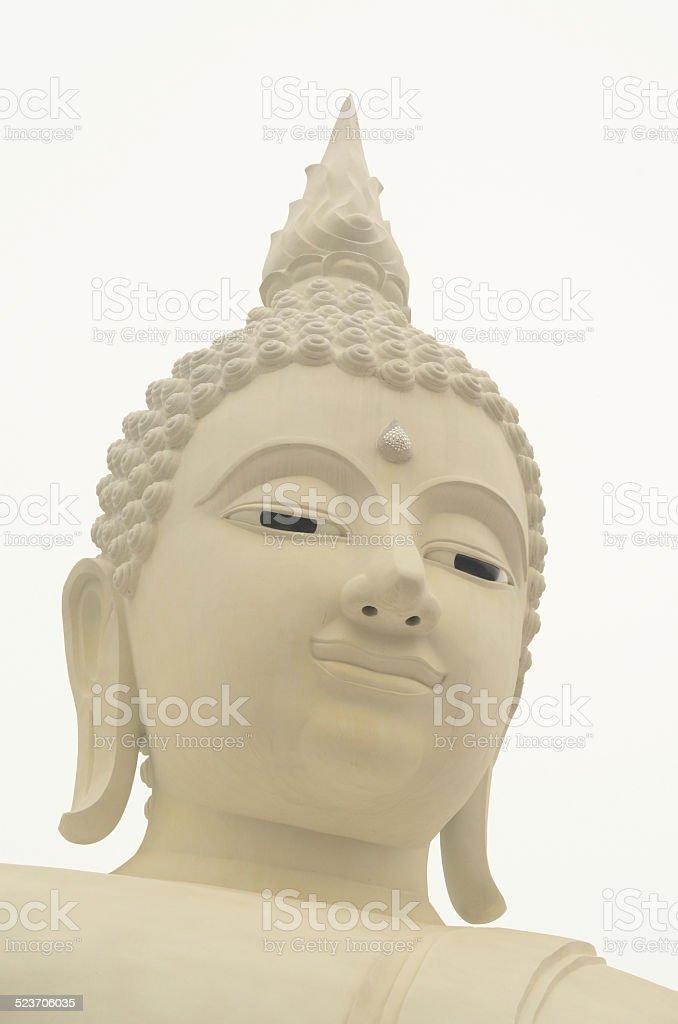 Posąg Buddy stockowa ilustracja wektorowa royalty-free