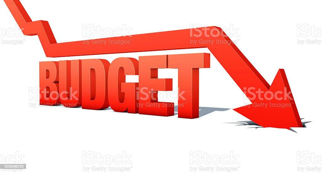 Outono gráfico de seta orçamento vetor e ilustração royalty-free royalty-free