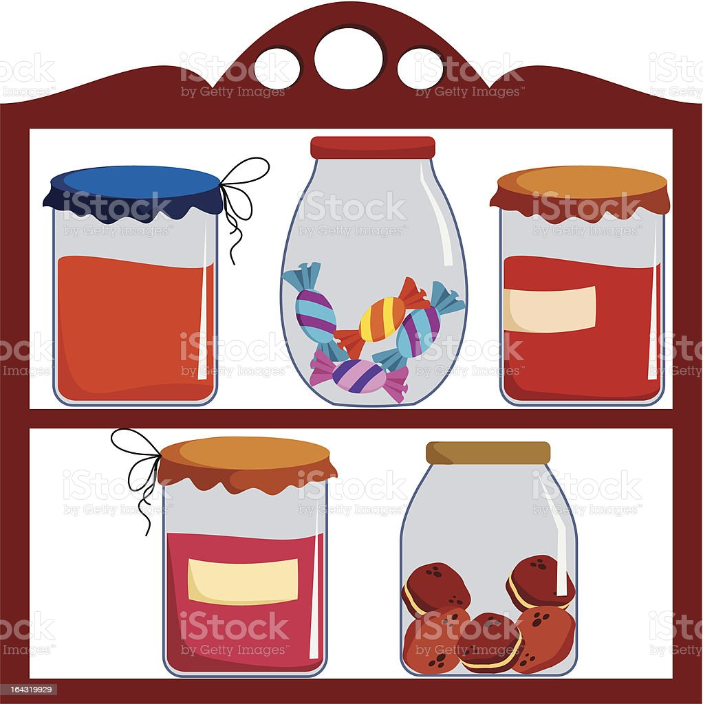 buffet royalty-free stock vector art