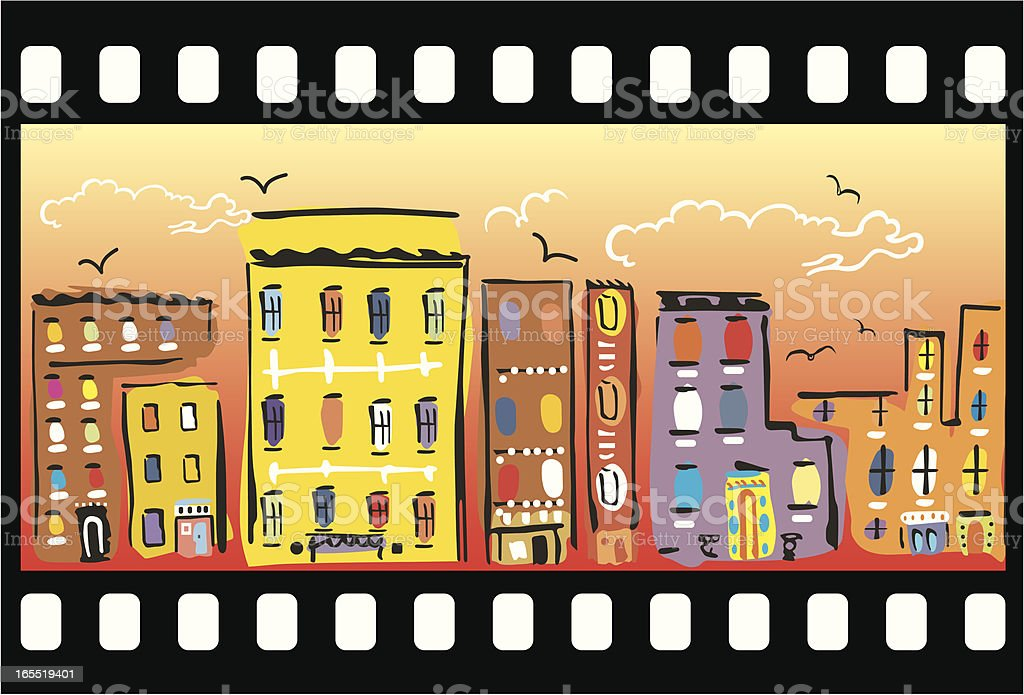 Buildings royalty-free stock vector art