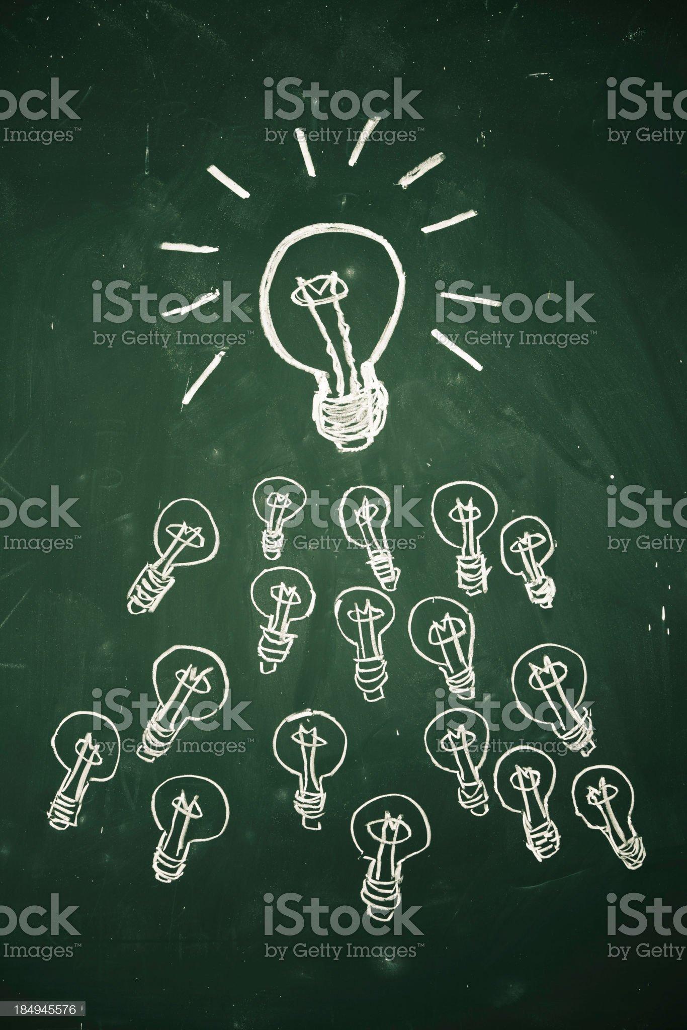 bulb concepts royalty-free stock vector art