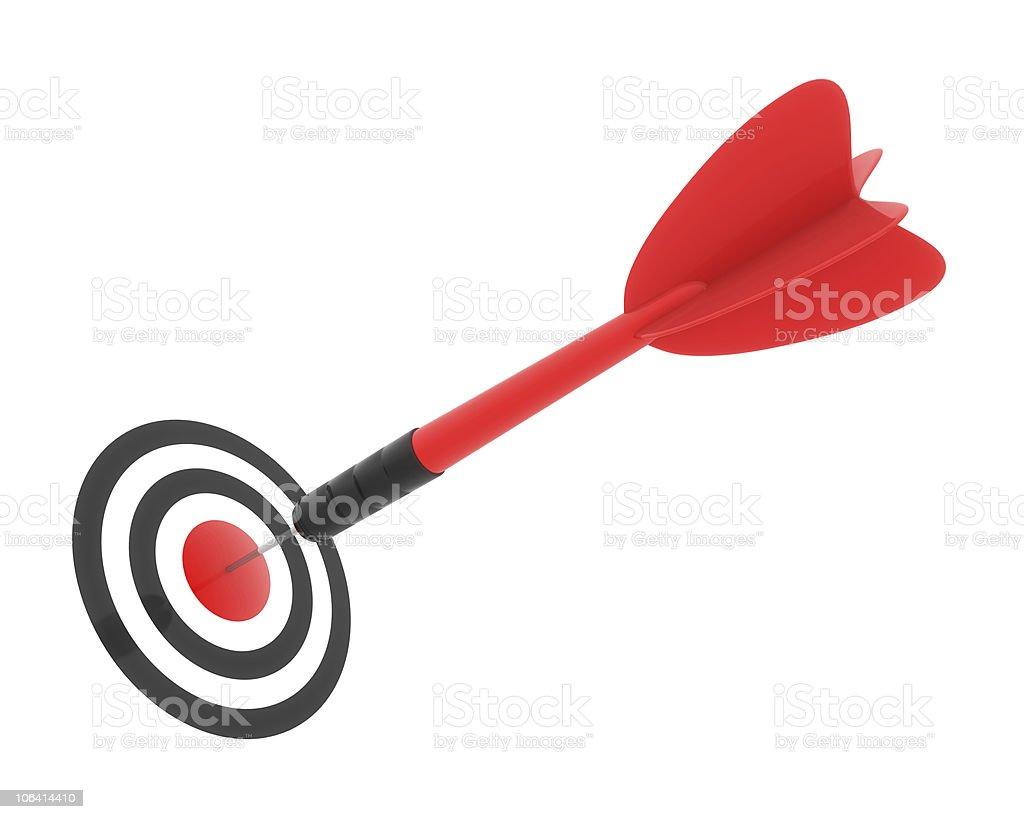 Bulls Eye royalty-free stock vector art