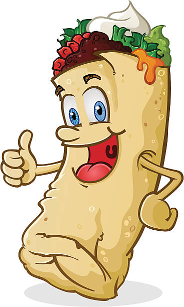 Burrito Clip Art, Vector Images & Illustrations - iStock