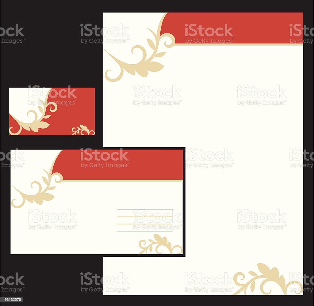Business  background royalty-free stock vector art