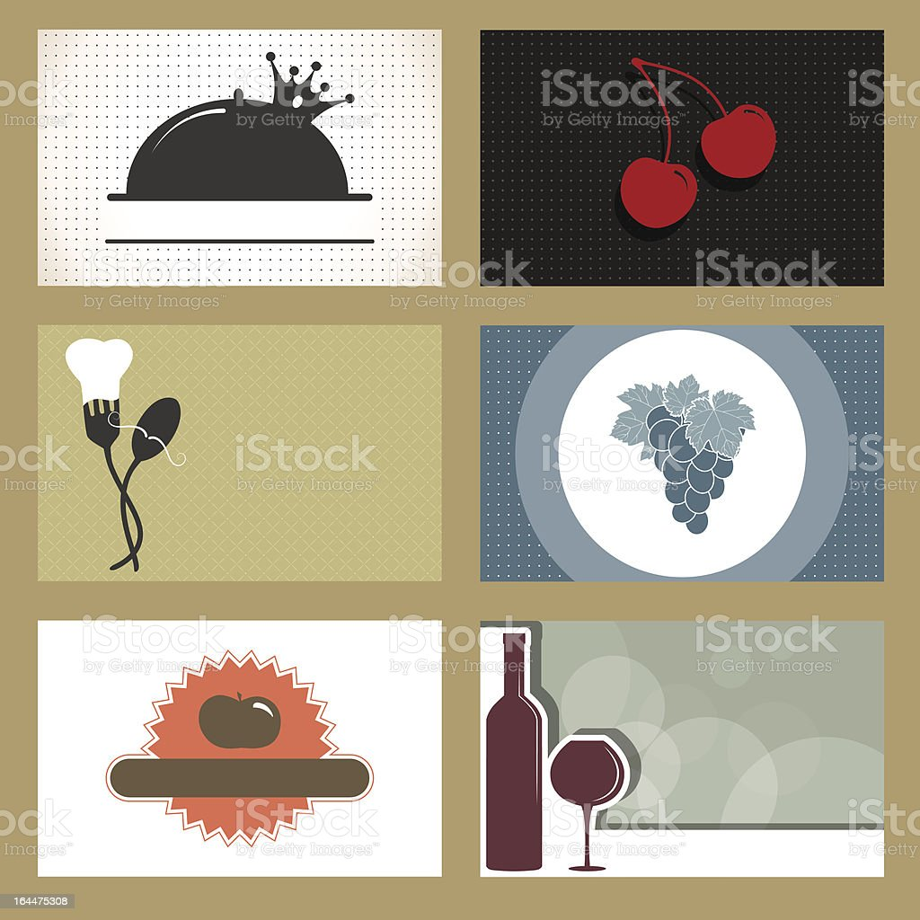 Business cards royalty-free stock vector art