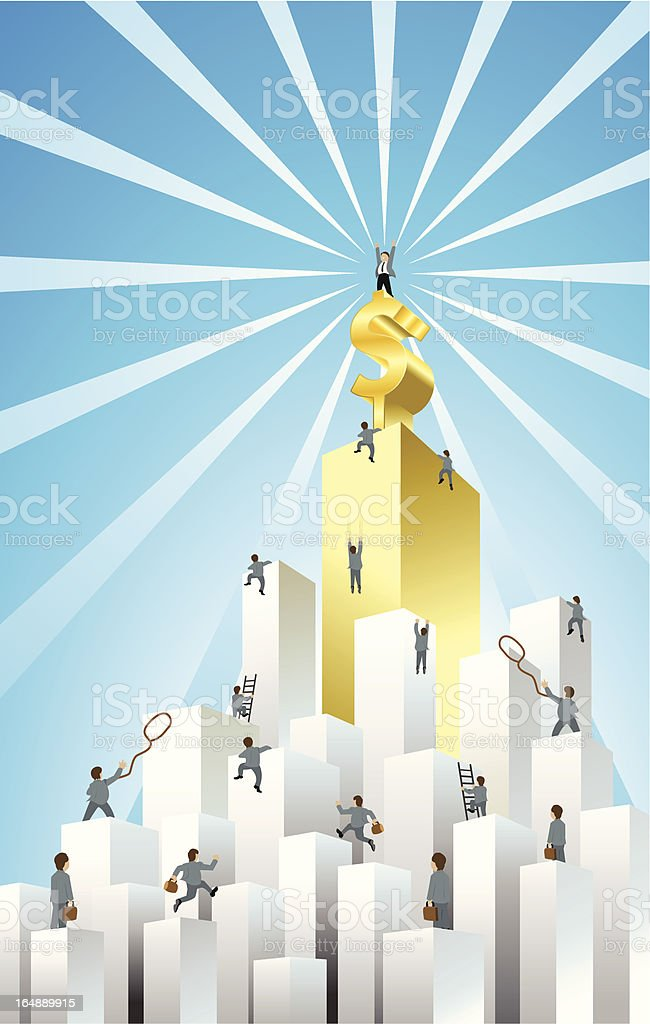 business challenge royalty-free stock vector art