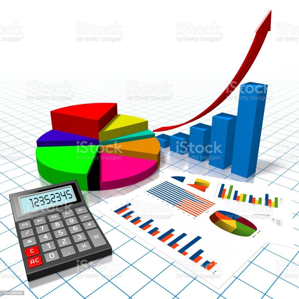 3d business chart stock vector art 641495336 istock 3d business chart royalty free stock vector art ccuart Gallery