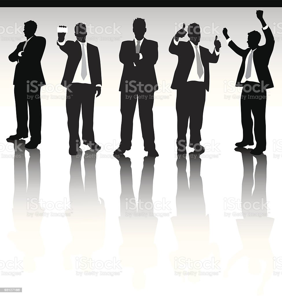 Business Men royalty-free stock vector art