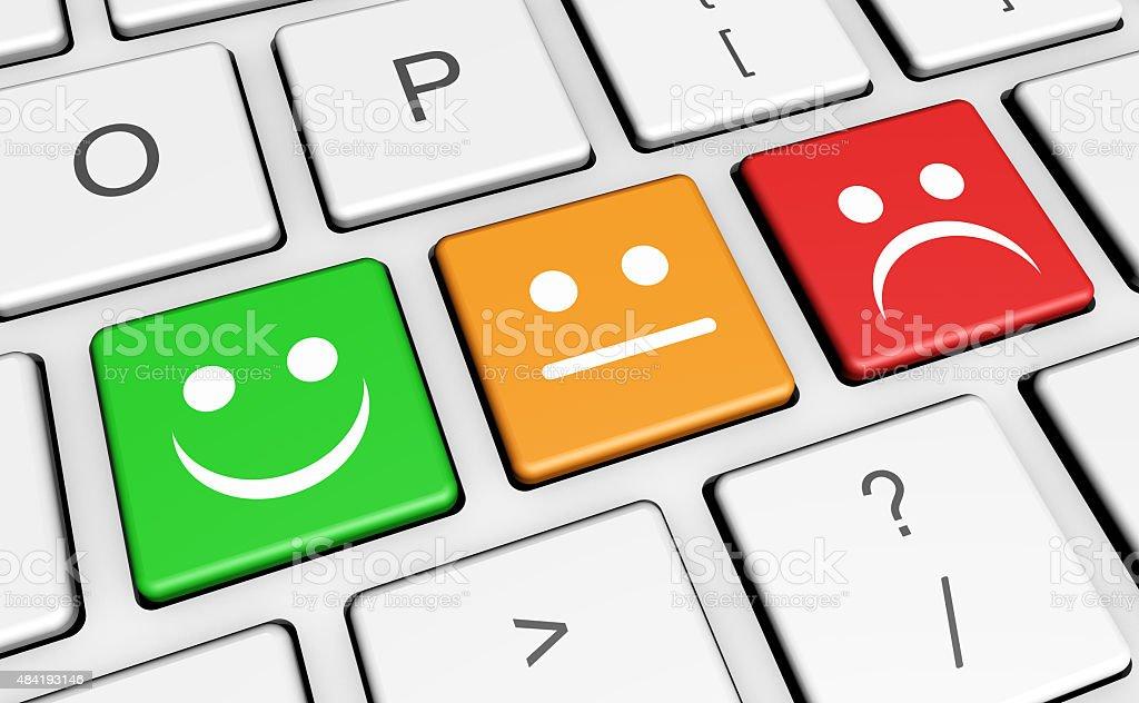 Business Quality Customer Survey Feedback vector art illustration
