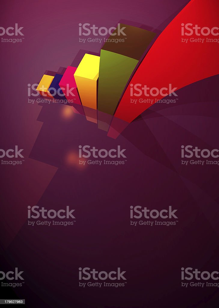 Business Statistics royalty-free stock vector art