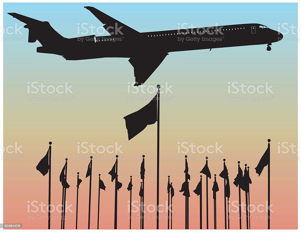 Business Trip ( Vector ) royalty-free stock vector art