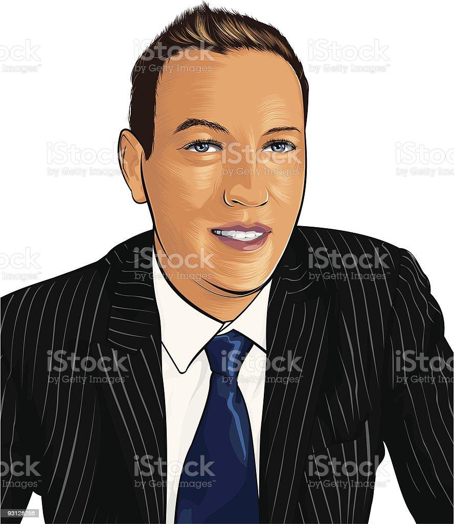 businessman royalty-free stock vector art