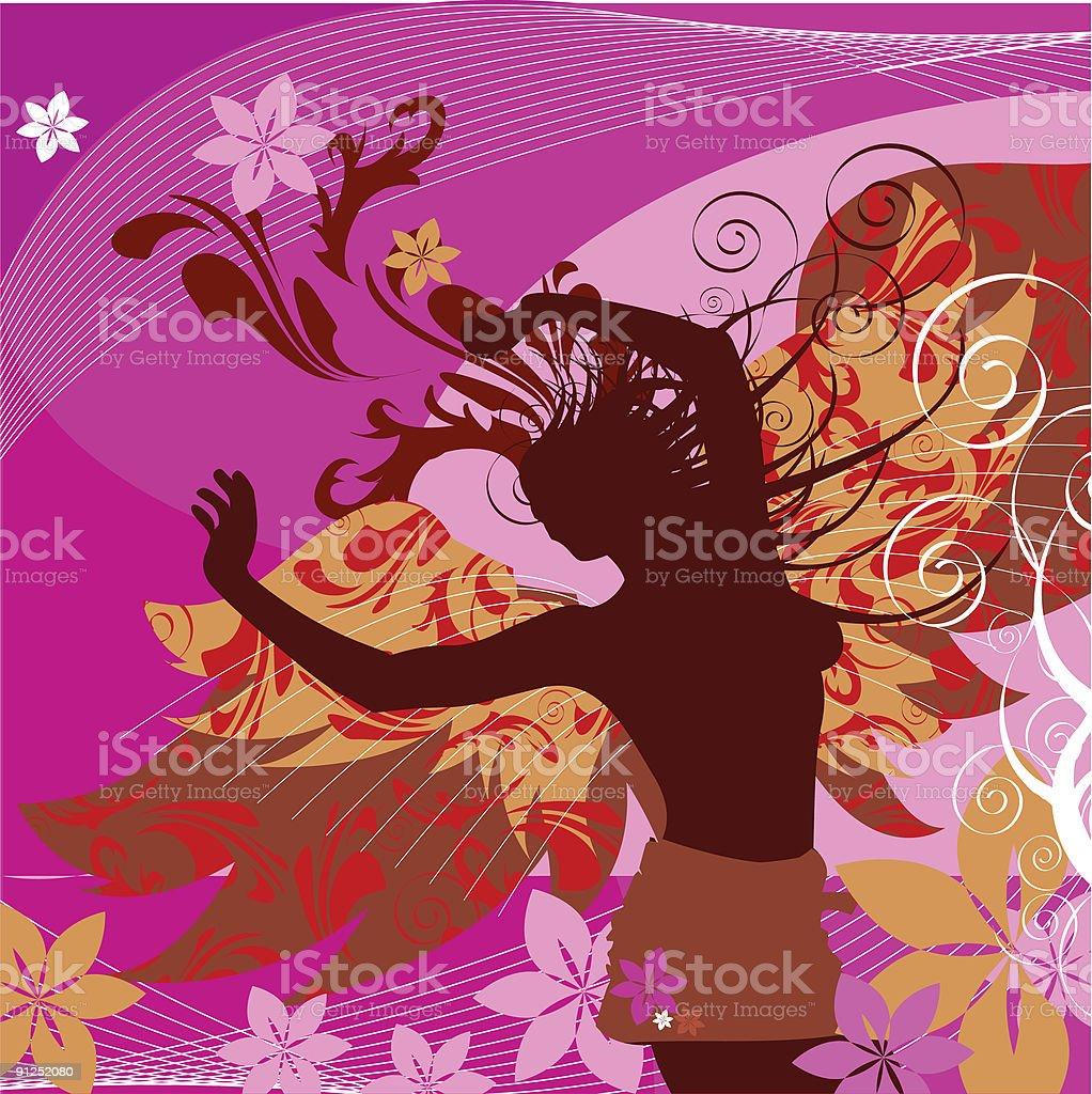 Butterfly Inspiration vector art illustration