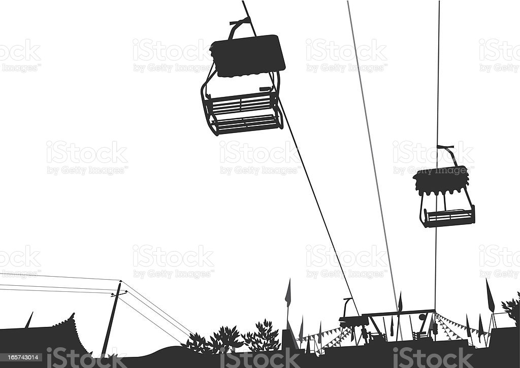 cable car royalty-free stock vector art