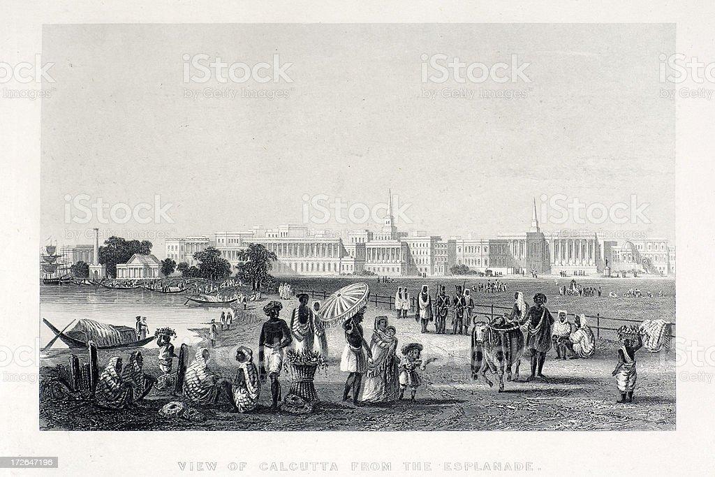 Calcutta royalty-free stock vector art