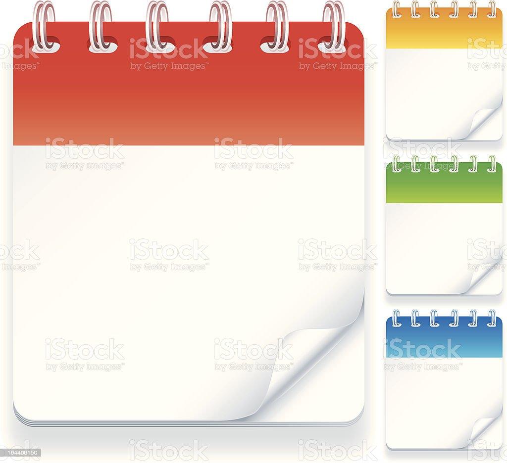 Calendars. royalty-free stock vector art