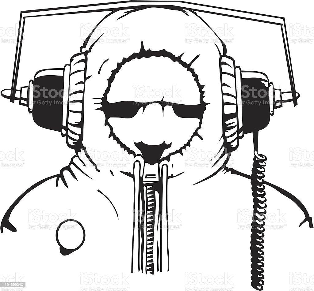 Camden Cyberman vector art illustration