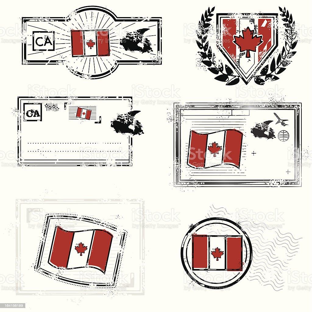 O Canada royalty-free stock vector art