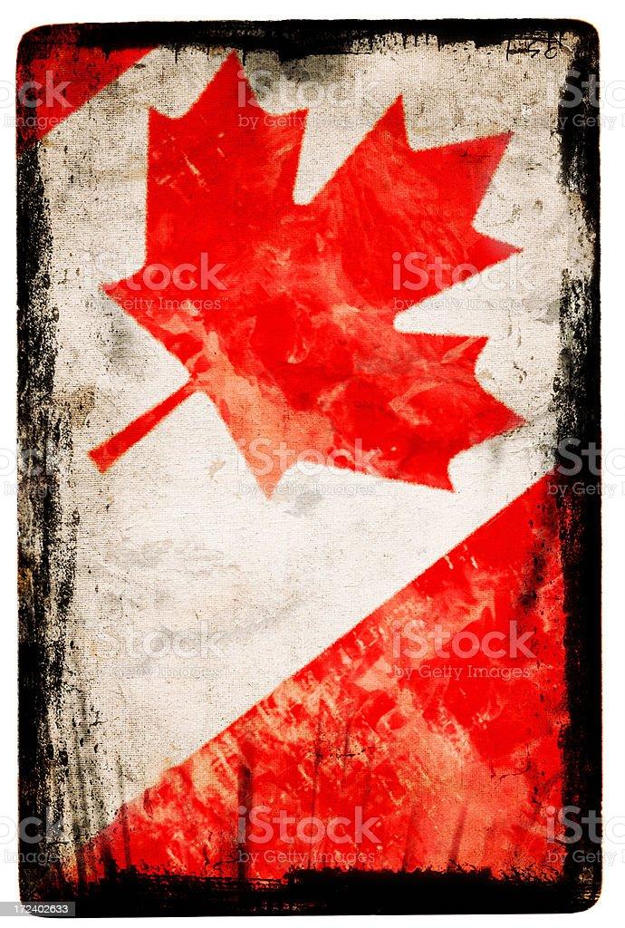 Canadian Flag XXL royalty-free stock vector art