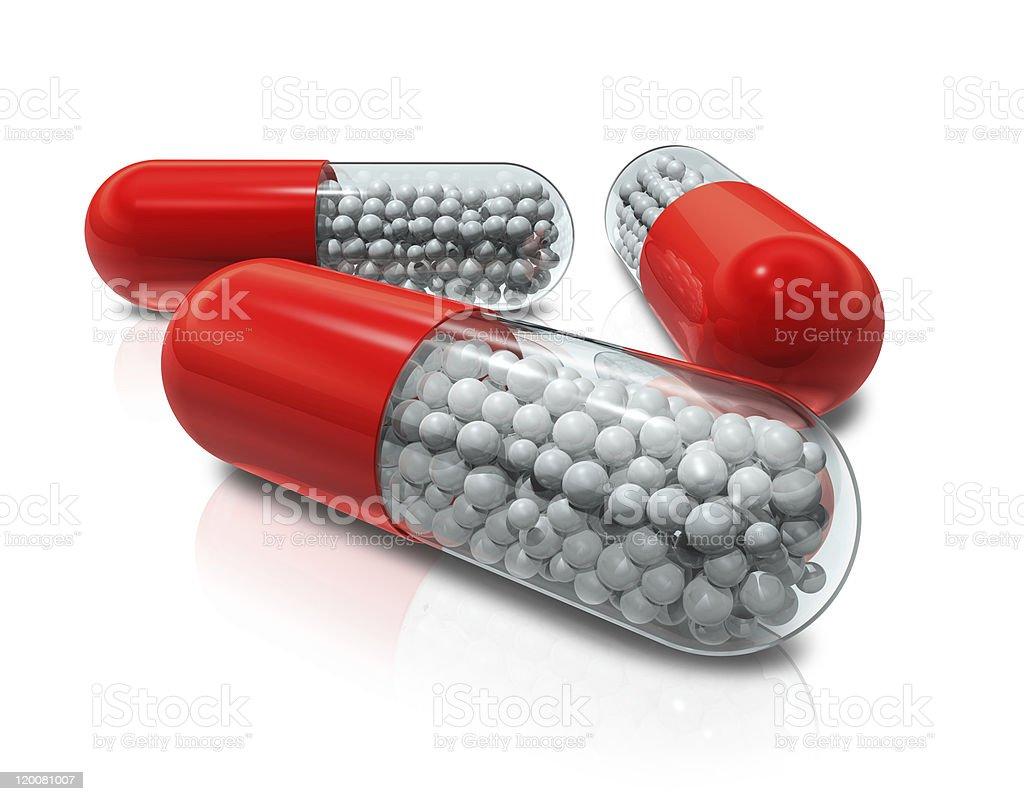 capsule pills royalty-free stock vector art