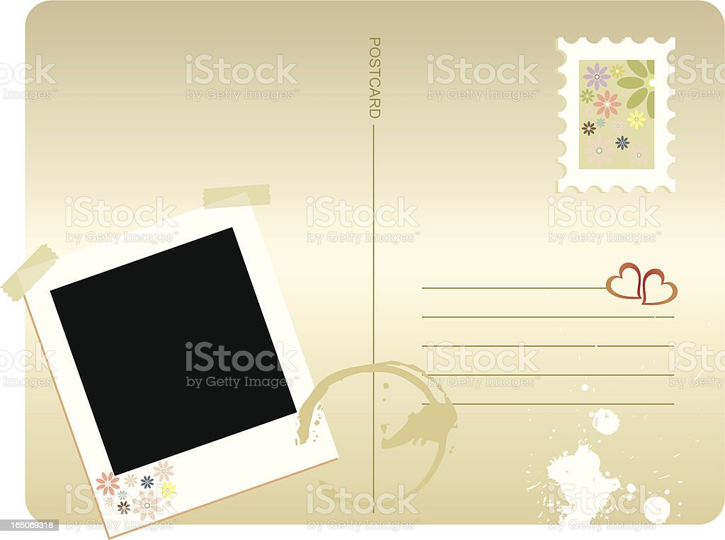 Card Series - Postcard royalty-free stock vector art