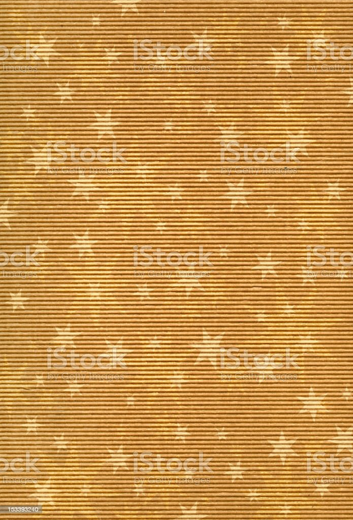 cardboard with star decoration royalty-free stock vector art