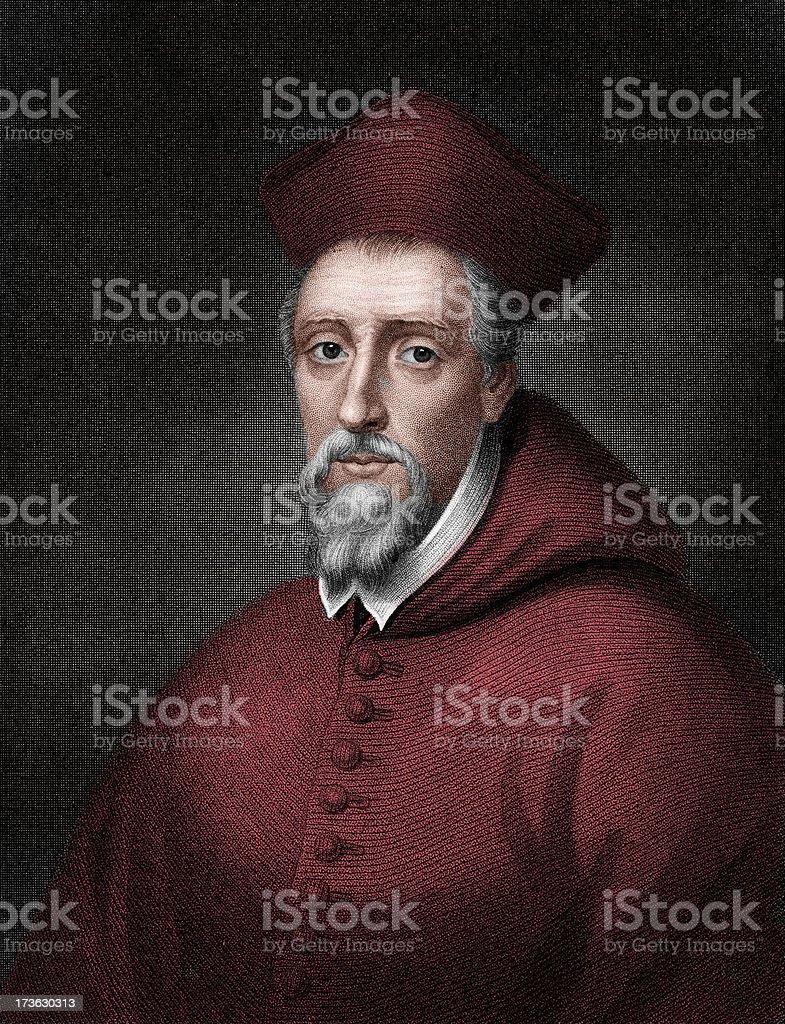 Cardinal Allen vector art illustration
