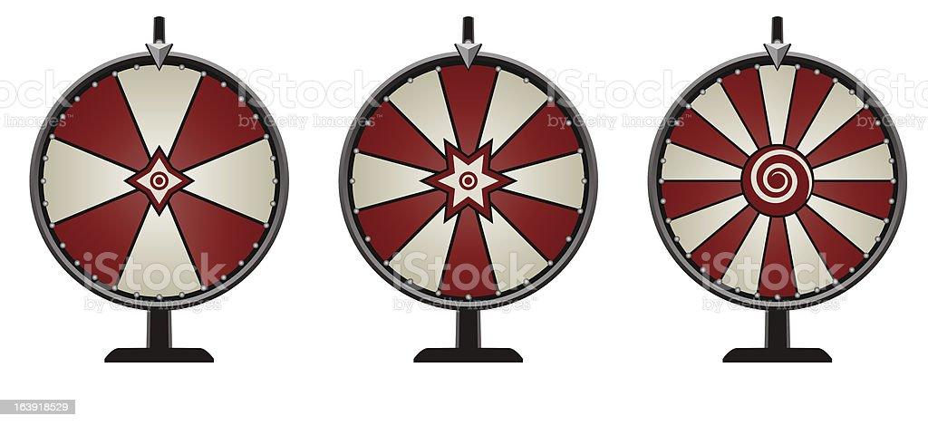 Carnival Wheels vector art illustration