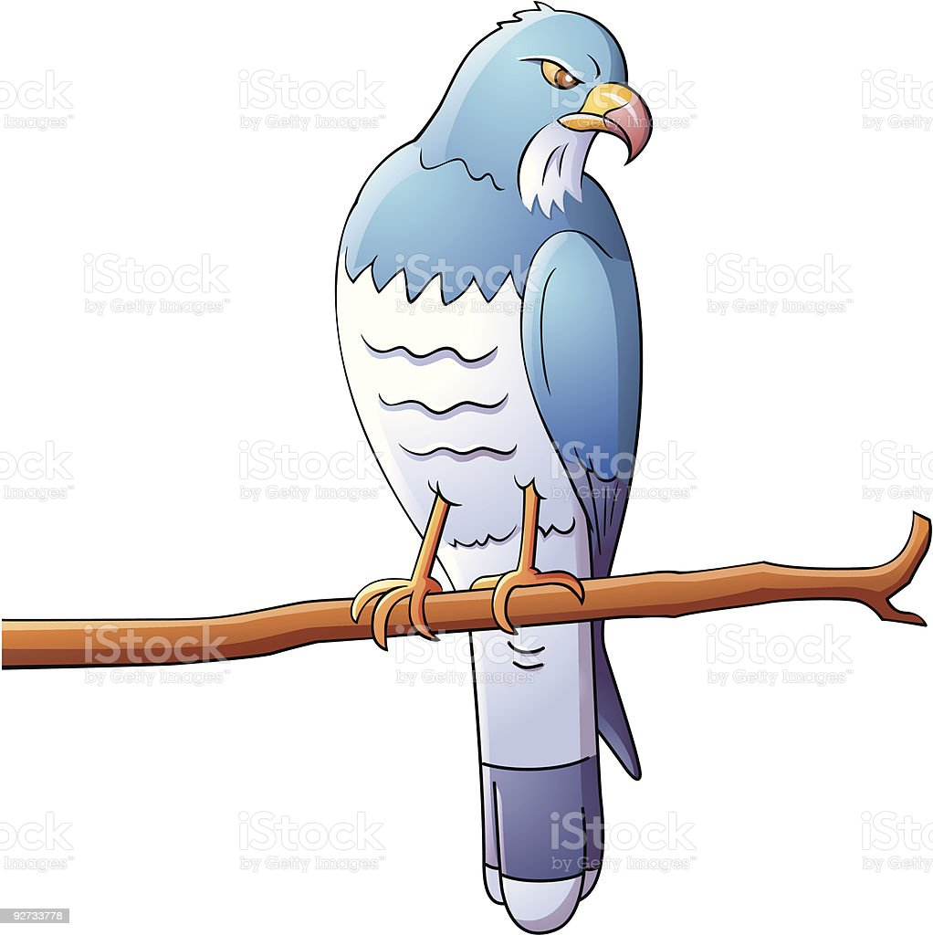 cartoon eagle royalty-free stock vector art