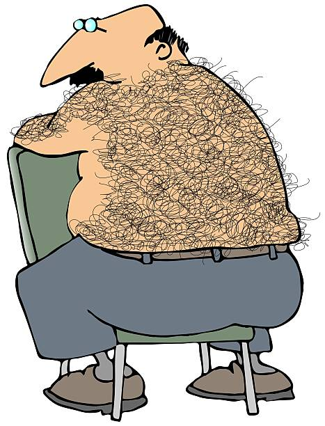 Hairy Man Clip Art, Vector Images & Illustrations