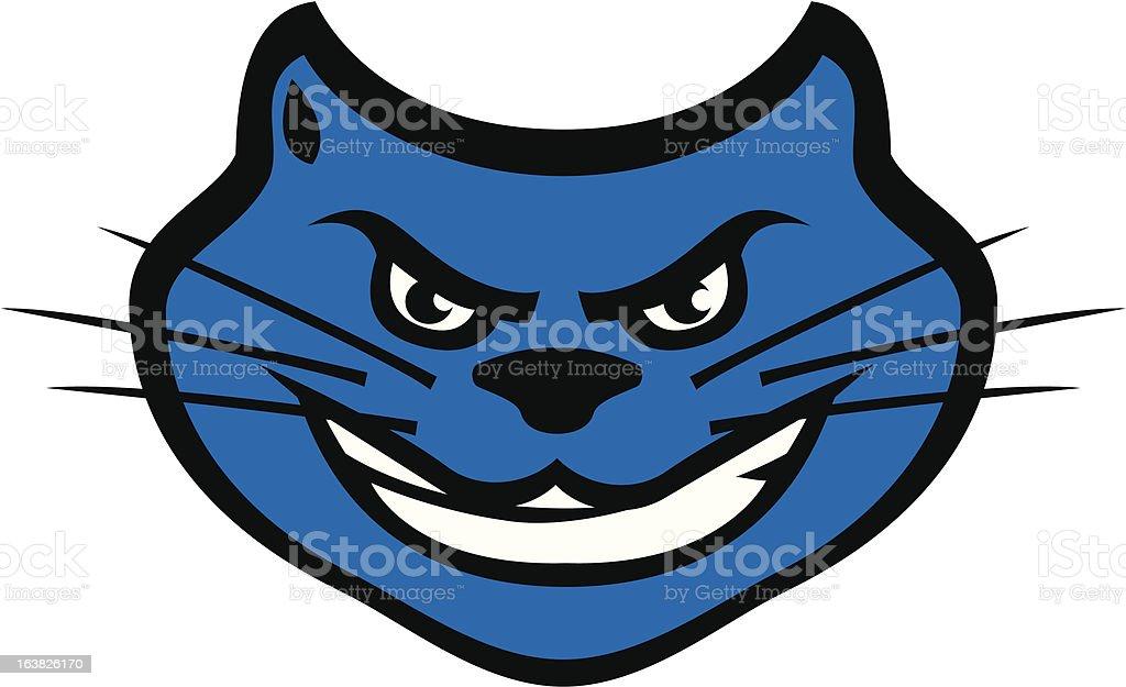 Cartoon Panther Mascot royalty-free stock vector art