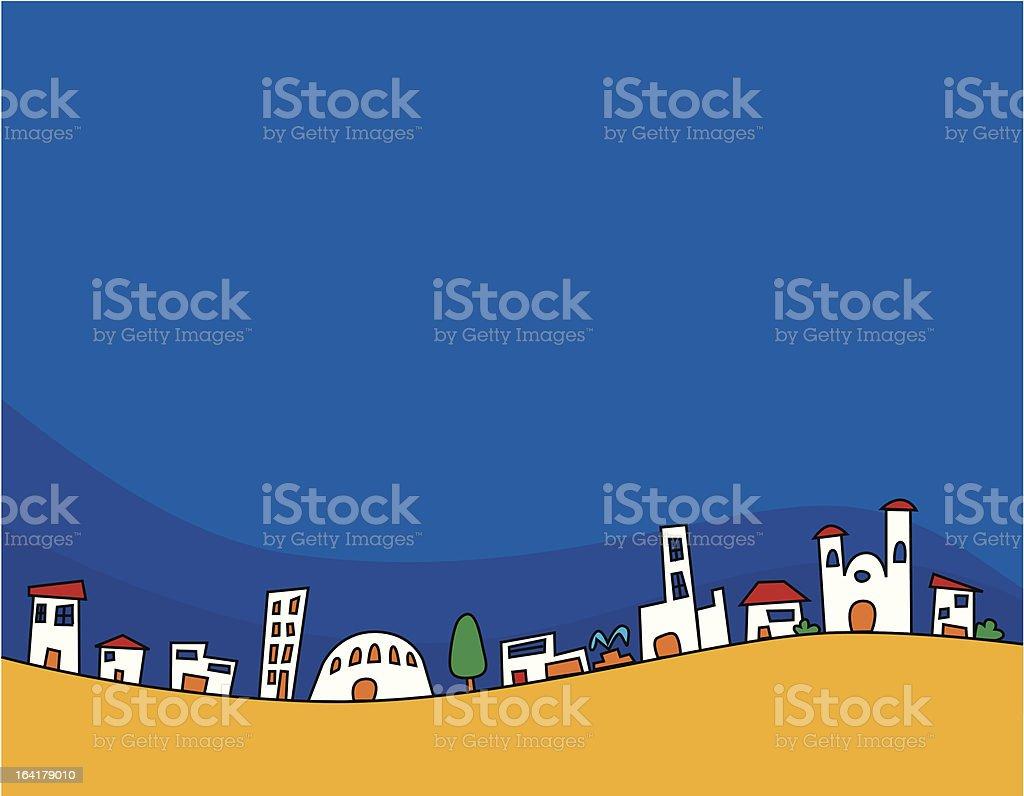 casas (vector) royalty-free stock vector art