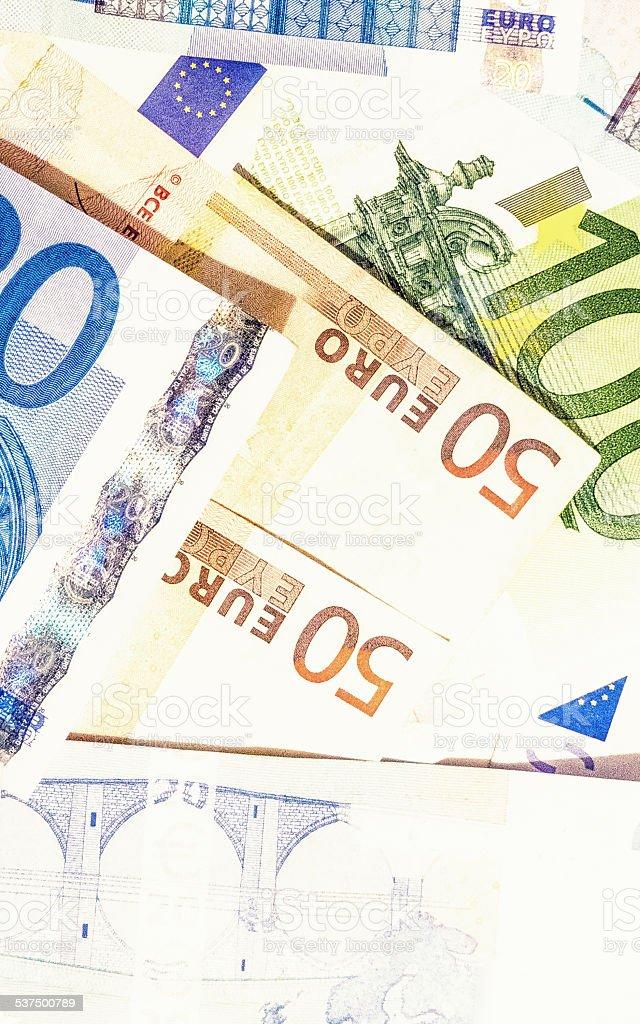 Cash background vector art illustration