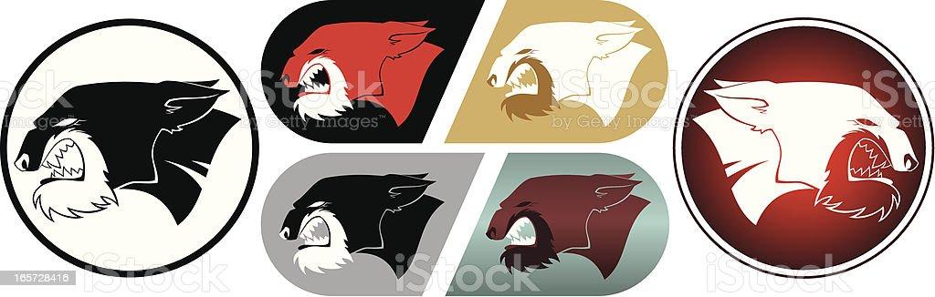 Cat head royalty-free stock vector art