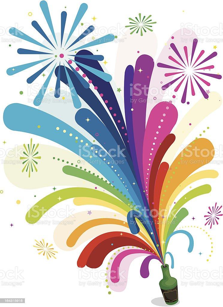 Celebration Design vector art illustration