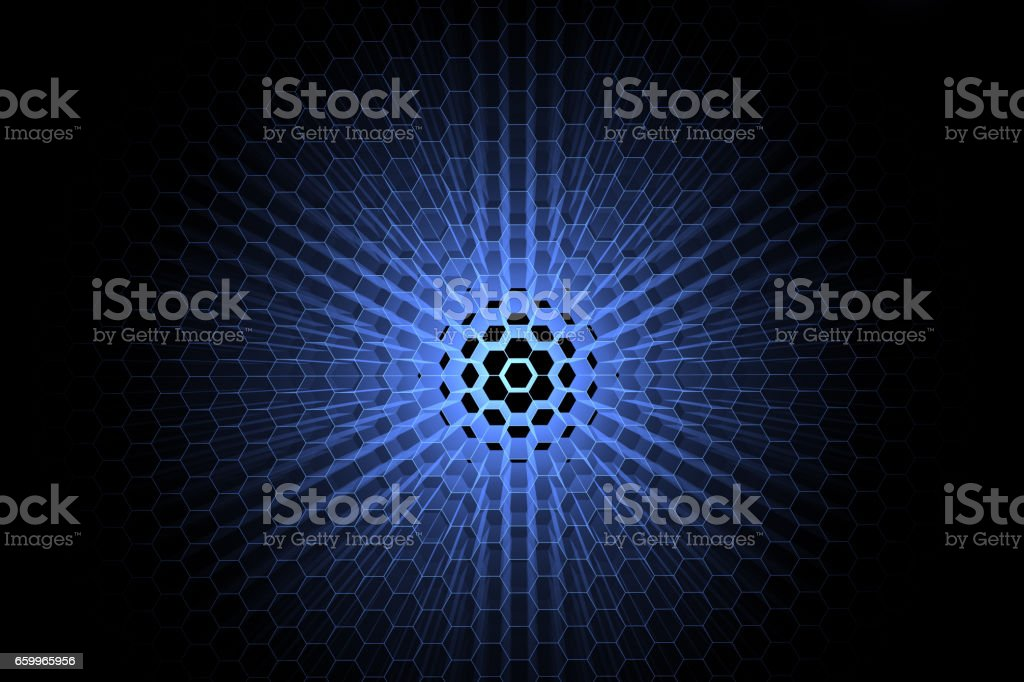 Cellular background vector art illustration