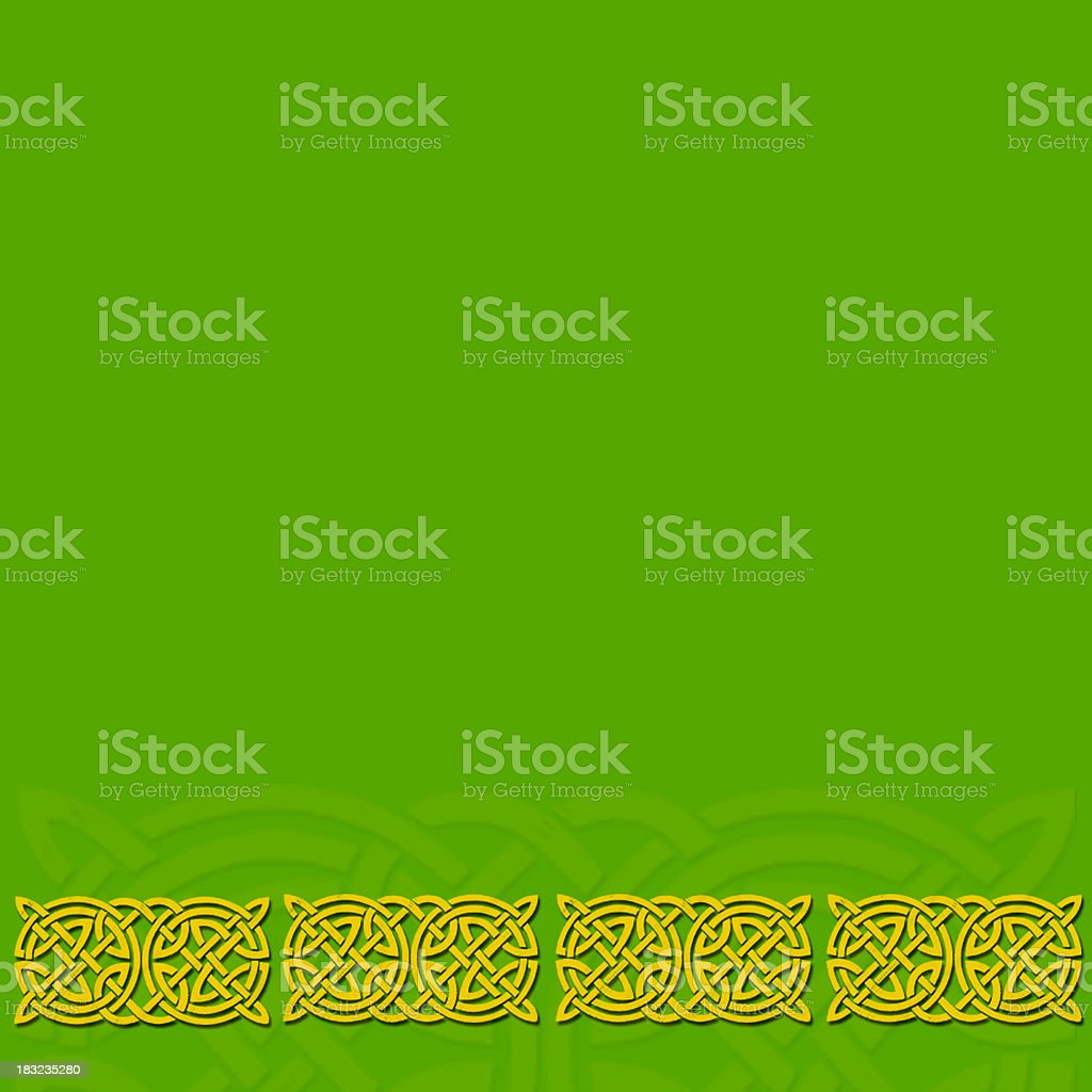 Celtic Border 1 royalty-free stock vector art