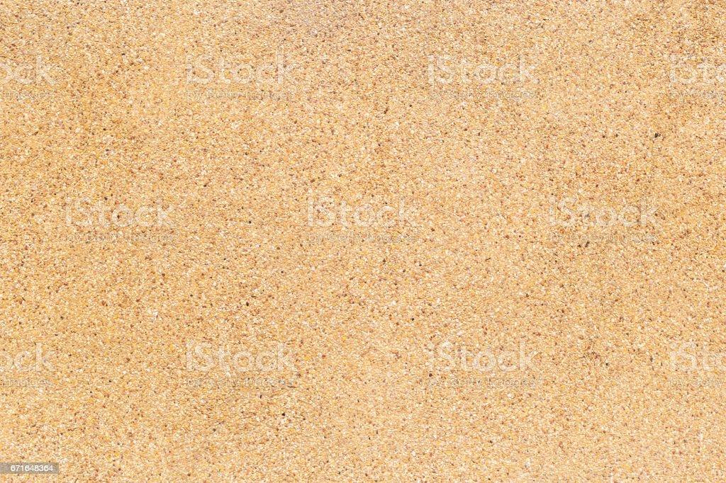 Cement mixed small gravel stone wall vector art illustration
